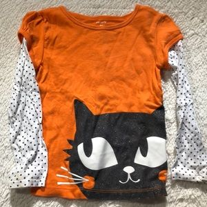 Adorable girls Halloween shirt